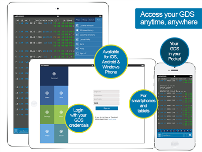 Access your GDS anytime, anywhere