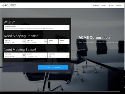 Company Self Service Portal